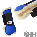 Protector HH Deluxe tendón delantero con borreguillo (par)