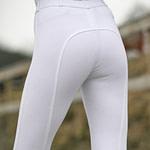 Pantalones de montar Horze con asiento completo de silicona activa para mujer