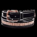 Cinturón de cuero Roségold Waldhausen
