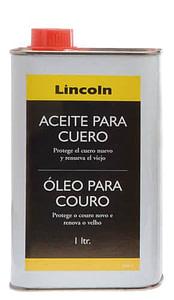 Aceite Lincoln para cuero