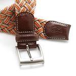 Cinturón Lexhis algodón trenzado ancho